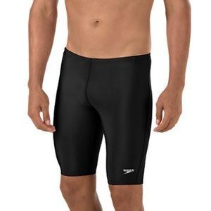 Men's Speedo Swim Jammers Black 28 Pro LT